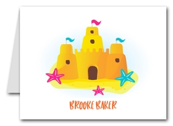 Note Cards: Sandcastle & Starfish