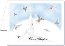 Note Cards: Church Steeple