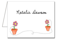Note Cards: Flower Pots