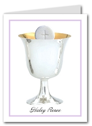 Note Cards: Silver Chalice Lilac