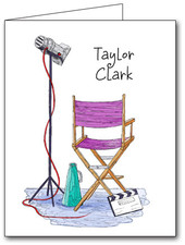 Note Cards: Director's Chair