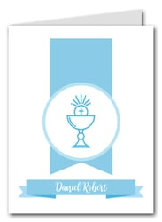 Blue Chalice Banner Thank You Notes