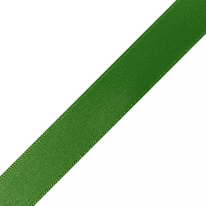 "Pre-Cut Hunter Green Ribbon 5/8"" x 10"""