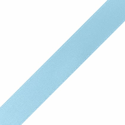 "1/4"" x 18"" Light Blue Ribbon"