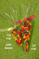 Candy Cones Party Favor Bags