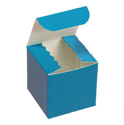 Gloss Peacock Blue Favor Box 2""