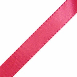 "1/4"" x 18"" Shocking Pink Ribbon"