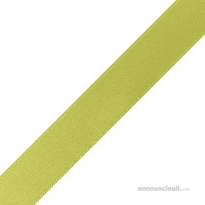 "5/8"" x 10"" Lime Green Ribbons Pre-Cut"
