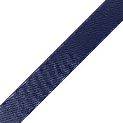 "Pre-Cut 5/8"" x 36"" Navy Blue Ribbons"