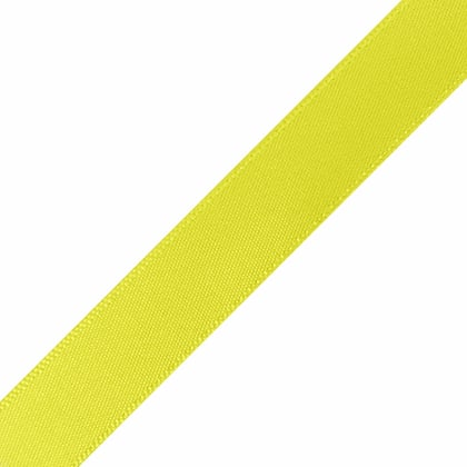 "1/4"" x 10"" Pineapple Yellow Ribbon"