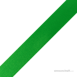 "1/4"" x 12"" Emerald Green Ribbons Pre-Cut"