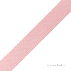"5/8"" x 10"" Baby Pink Ribbons Pre-Cut"