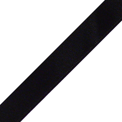 "Pre-Cut 5/8"" x 36"" Black Ribbons"