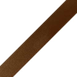 "Pre-Cut 5/8"" x 36"" Brown Ribbons"