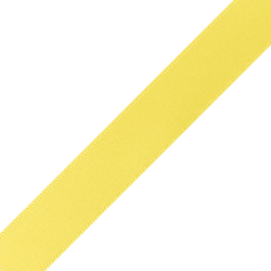 "Pre-Cut 5/8"" x 36"" Lemon Yellow Ribbons"