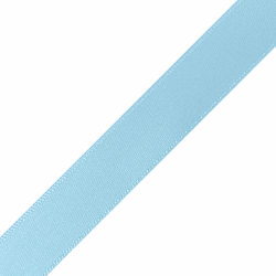 "Pre-Cut 5/8"" x 36"" Light Blue Ribbons"