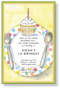 Cupcake Party Placesetting