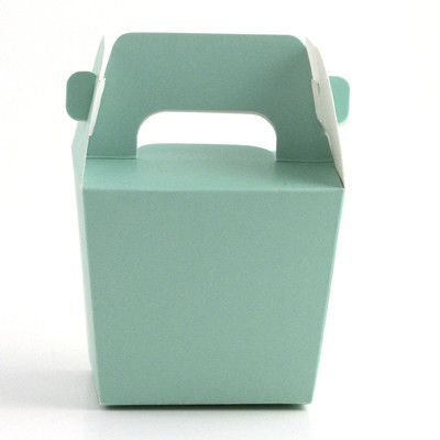 Mint Mini Tote Paper Boxes