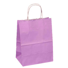 Upright Orchid Favor Bag with Handle