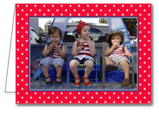 Star Spangled Holiday Photo Holder Cards*