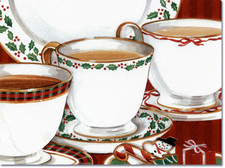 Holiday Teacups
