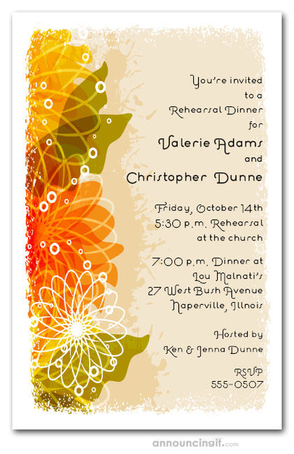 Autumn birthday invitations acurnamedia autumn floral collage invitations autumn birthday invitations filmwisefo