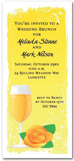 mimosa invitations cocktail brunch invitations sunday brunch
