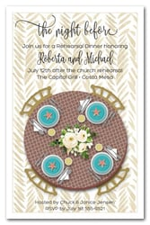 Tiffany Blue & Brown Table
