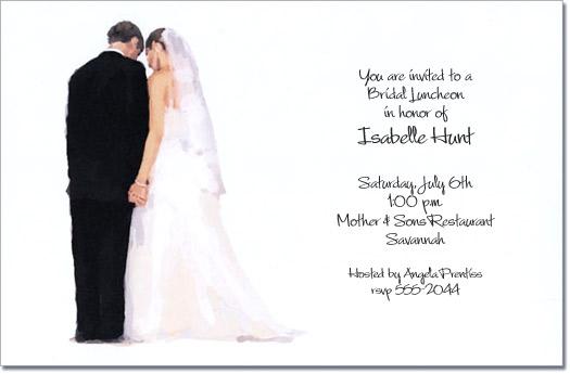 Couples wedding shower invitations bridal shower invitations wedding couple side by side filmwisefo Choice Image